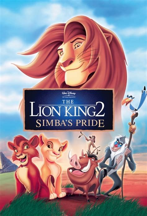 film lion king 2 movie poster for the lion king 2 simba s pride flicks co nz