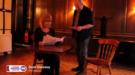 Dead Giveaway Interview - dead giveaway almost random theatre