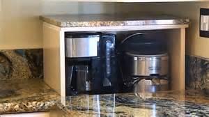 Corner Kitchen Cabinet Organizer - blind corner cabinet appliance lift demonstration youtube