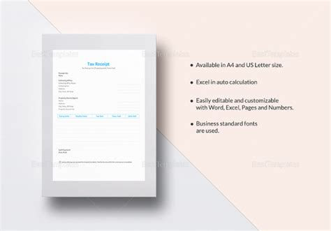 Tax Invoice Receipt Template by 17 Invoice Receipt Templates Doc Excel Pdf Free