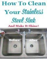 How Do You Clean A Stainless Steel Kitchen Sink by How To Clean Kitchen Sinks Hints And Tips