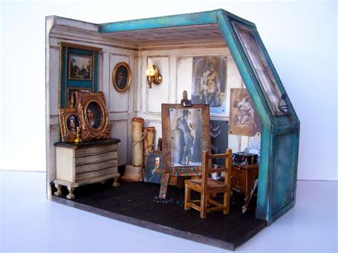 doll house studio 1000 images about dollhouse art studio on pinterest artist loft art studios and