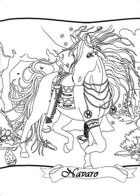 bella sara navaro coloring page