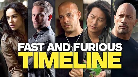 fast and furious watch order the fast and the furious movie timeline in chronological