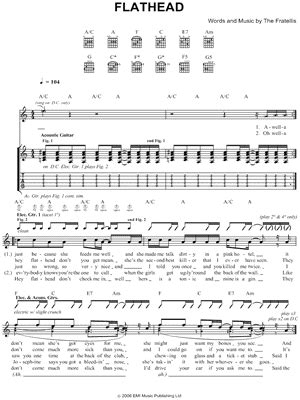 chelsea dagger chords download the fratellis digital sheet music and tabs