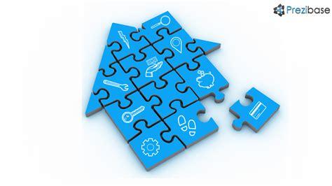 house puzzle prezi template prezibase