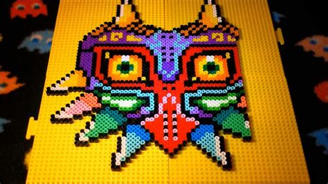 how to make a bead mask majora s mask perler bead stop motion