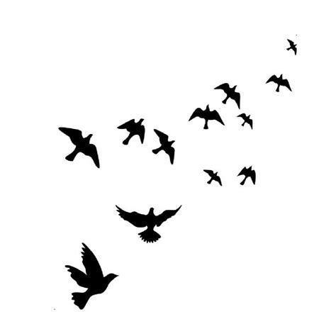 wallpaper gagak hitam gambar aliexpress buy hot selling black flying bird wall