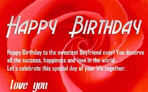 Happy Birthday Quotes To Boyfriend Love Quotes For Boyfriend Birthday Quotesgram