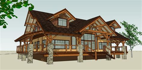 a frame style house harrison design custom building design