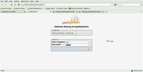 membuat database mysql dengan appserv blog orang desa cara koneksi database mysql dengan java