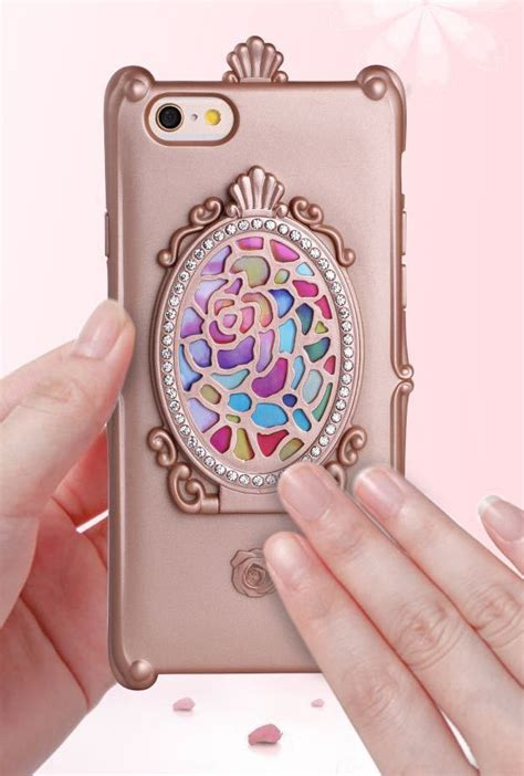 iphone case magic mirror iphone  case  rose gold sincerely sweet boutique