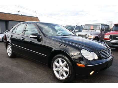 Mercedes C240 2003 by 2003 Mercedes C240 4matic 2 6l V6 New Tires Leather