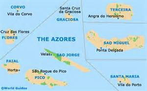 Azores World Map by Vila Do Porto Maps And Orientation Vila Do Porto Azores