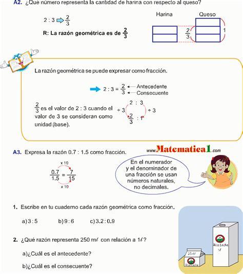 imagenes de razones matematicas razones y proporciones geom 201 tricas ejemplos resueltos pdf