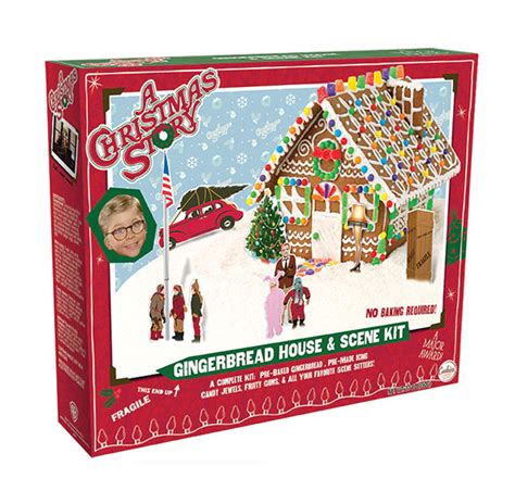christmas story l cookies a christmas story gingerbread house kit 16204 cookies united