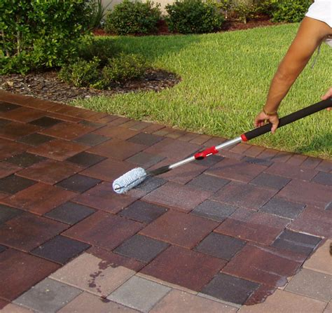 how to seal a paver patio paver sealing what paver sealer to use