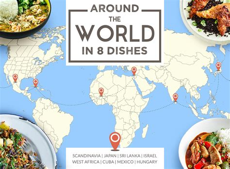 around the world in around the world in 8 dishes gousto