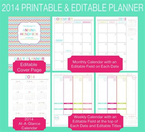 small printable daily calendar daily planners page sizes and planners on pinterest