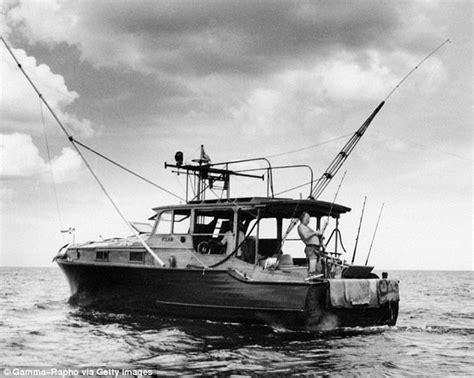 hemingway s boat man sails replica of hemingway s boat pilar to contest
