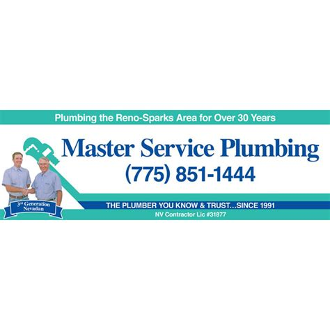 Master Plumbing by Master Service Plumbing In Reno Nv 89502 Citysearch