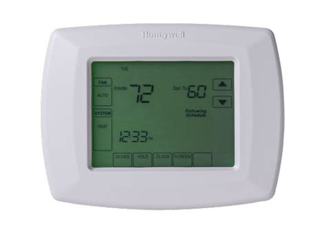 Honeywell Touchscreen RTH8500D Thermostat   Consumer Reports