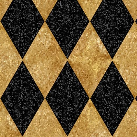 black and white harlequin pattern fabric harlequin diamonds black and antique gold sequins