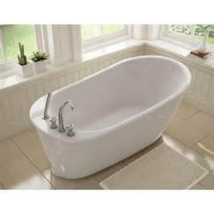 maax sax 5 ft freestanding reversible drain bathtub in