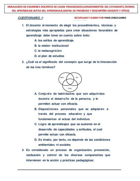 preguntas basicas sobre economia simulacros de ex 225 menes docentes con 742 casos pedag 243 gicos