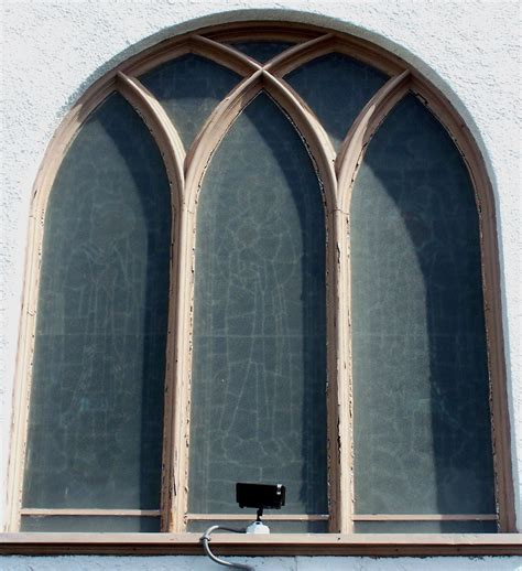 stained glass window frame repair
