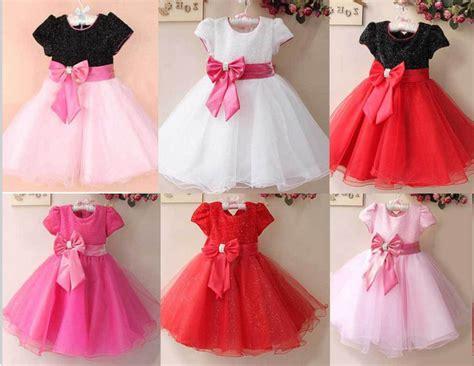 2014 New Summer Flower Girl Dresses For Party Wedding Short Sleeves Elegant Princess Dress Red