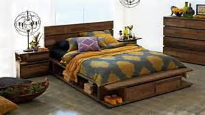 Harvey Norman Home Decor by Random Low Queen Bed Harvey Norman Raw Timber Bedroom