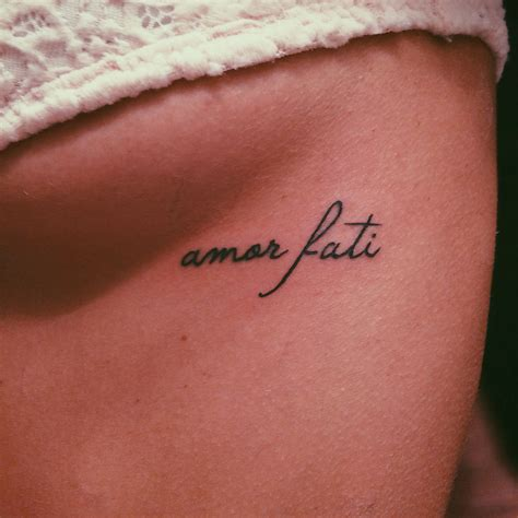 latin phrases for tattoos fati of one s fate tatted up
