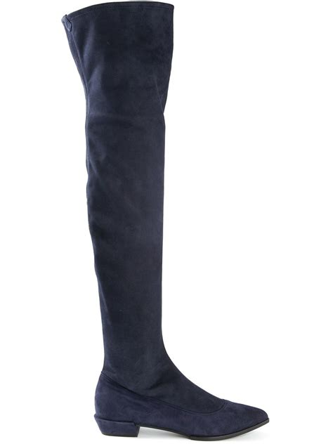 flat the knee boots to buy in 2016 2018 become chic