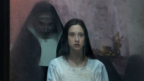 actor the nun the nun outpaces all four conjuring movies in fandango