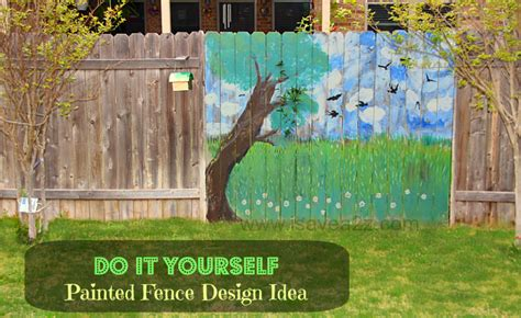 painting backyard fence painted fence ideas backyard fence decorating design