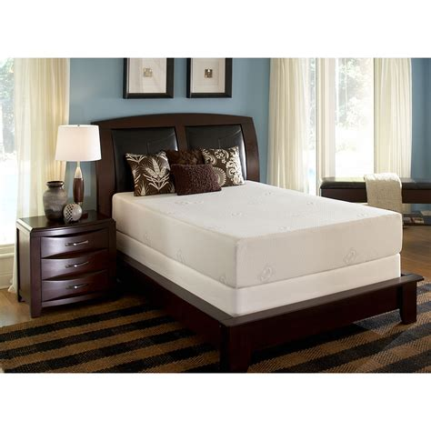 Sealy Comfort Series Memory Foam by Sealy Posturepedic Crest Mattress Only