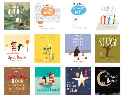 picture books oliver jeffers setaprint an archive for visual inspiration