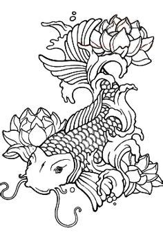 japanese fish coloring pages original coloring pages mermaid scales coloring pages