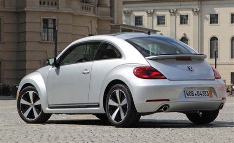 volkswagen bug 2013 2013 volkswagen beetle turbo review car reviews