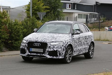 first audi 2015 audi rs q3 facelift first spy photos should have a