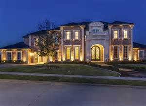 homes for allen tx 3 849 million brick mansion in allen tx homes of the rich