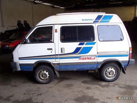 4wd Subaru by Subaru Libero 4wd Subaru Kroměř 237 ž