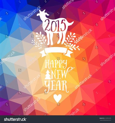 new year backdrop design happy new year and merry design geometric