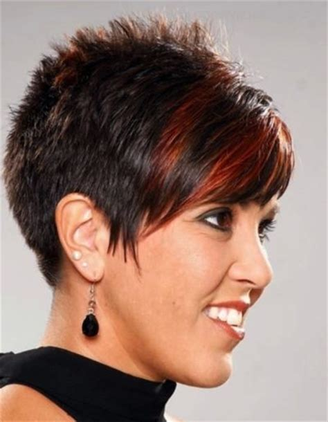 short hair spiky back women archives my salon
