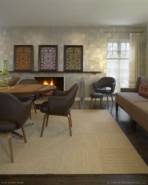 Design Tiles For Dining Wall Dining Living Room Contemporary Dining Room Detroit