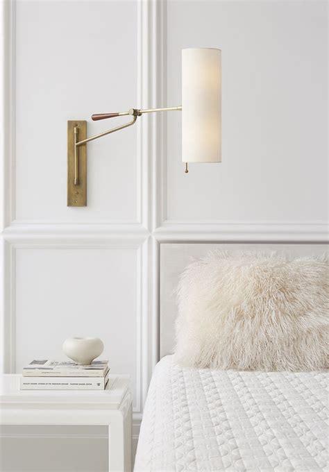top   bedroom sconces ideas  pinterest bedside wall lights tufted bed  sconces