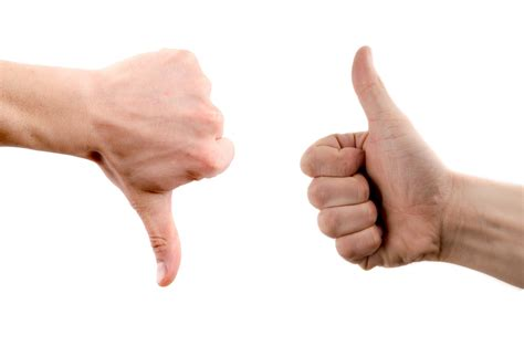 images thumbs up performance reviews did you get a thumbs up or thumbs