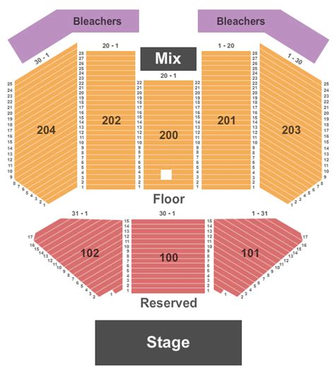 effingham performance center seating chart concert venues in salamanca ny concertfix