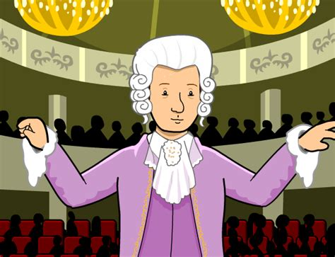 mozart biography cartoon wolfgang amadeus mozart lesson plans and lesson ideas